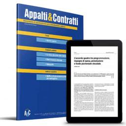 Appalti & Contratti - Rivista mensile di approfondimento sulla contrattualistica pubblica